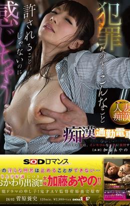 SDMU-650 SOD Romance Molested Commuter Train ~ ED Her Husband's Wife Is Lustful