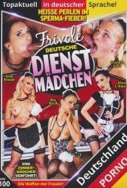 Frivole deutsche Dienstmädchen