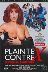Plainte Cortre X