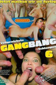 Vollgewichste Gangbang Schlampen 6