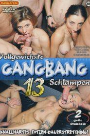 Vollgewichste Gang Bang Schlampen 13