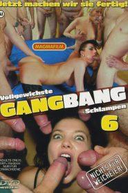 Vollgewichste Gang Bang Schlampen 6