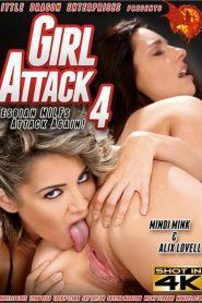 Girl Attack 4: Lesbian MILFs Attack Again!