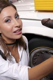 BangBros: Jade Jantzen – Mechanic Has The Biggest I've Ever Seen