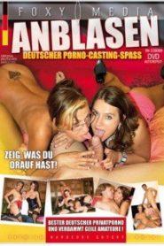 Anblasen Deutscher Porno-Casting-Spass