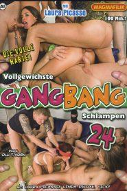 Vollgewichste Gang Bang Schlampen 24