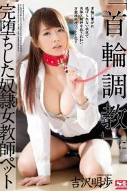 "SSNI-114 A Slave Female Teacher Pet Yoshizawa Aki Waving Completely In ""collar Training"""