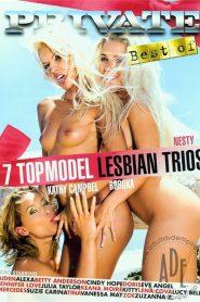 7 Top Model Lesbian Trios