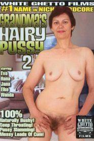 Grandma's Hairy Pussy 2