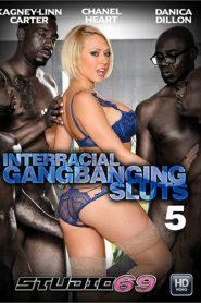 Interracial Gangbanging Sluts 5